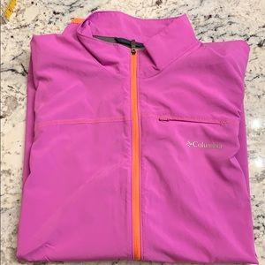 Columbia Omni Wick Zip Jacket Size XL EUC